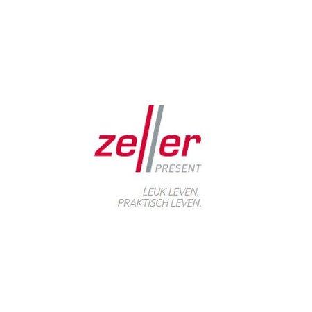 Zeller opbevaringsbeholder krom large - 1000ml
