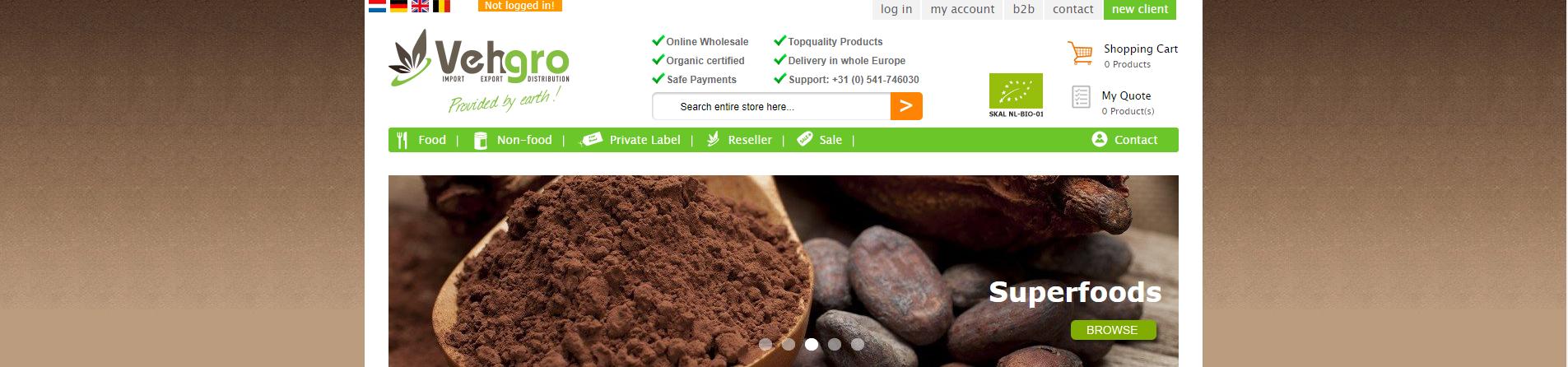 Wholesaler Organic Foods