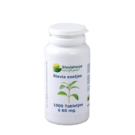 Steviahouse Stevia extract zoetjes RebA97 potje navulling 1000 stuks