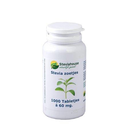 Steviahouse Stevia extract zoetjes Regular potje navulling 1000 stuks