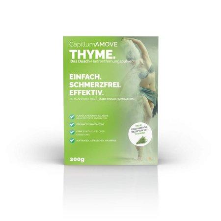 Capillum Amove Natuurlijke ontharingscrème Tijm 200gr