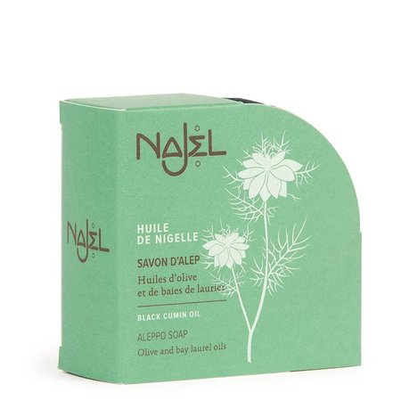 Najel Aleppo Seife mit Schwarzkümmel - 100g