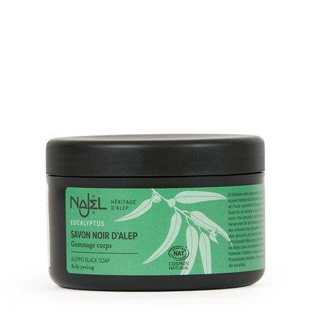 Najel zwarte zeep met eucalyptus - 180g