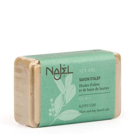 Najel aleppo regular zeep 12% bla - 100g