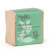 Aleppo soap 12% BLO Najel 185 grams