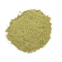 Organic Allium green / white ground