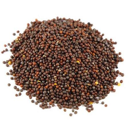 Nutrikraft Organic Sarepta brown Mustard seeds whole Brassica juncea