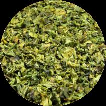 Organic Sweet pepper Flakes green 9 mm