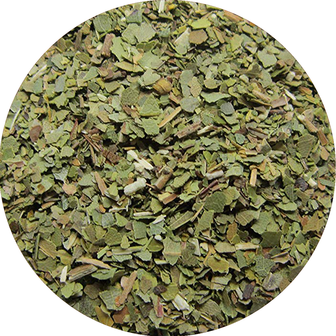 Organic Bay leaves cut from 0.5 to 8 mm