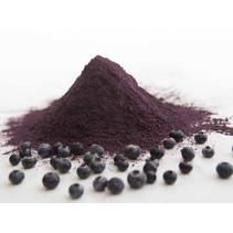 Økologisk frysetørret pulver blå bær 100g