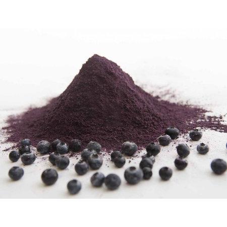 HolyFlavours Økologisk frysetørret pulver blå bær 100g