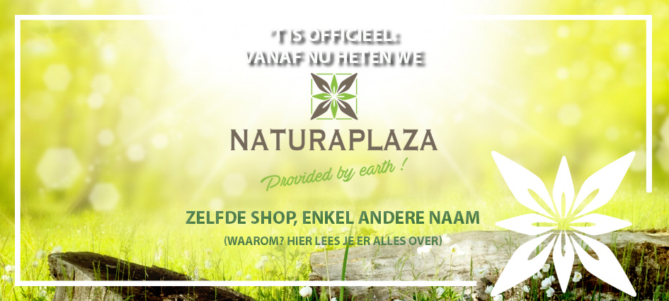 Naam gewijzigd naar Naturaplaza