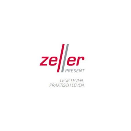 Zeller opbevaringsbeholder krom large - 900ml