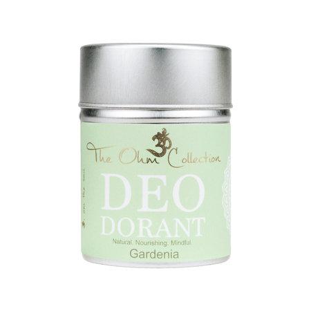 The Ohm Collection deo dorant poeder gardenia - 120g
