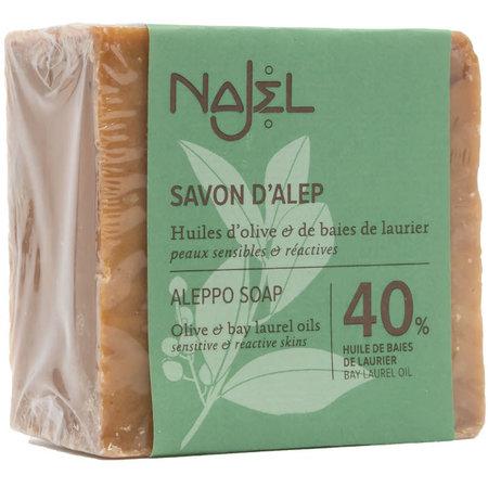 Najel Zeep aleppo regular 40% laurierolie - 185g