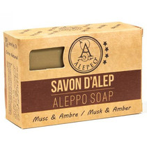 molding soap with musk and amber - 100g