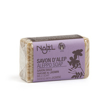 Najel Aleppo soap block Jasmine 100 grams