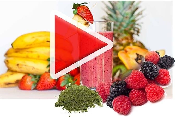Making super nice and healthy Smoothies