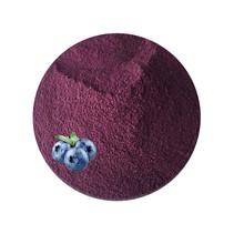 Økologisk frysetørret pulver blå bær