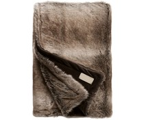 Faux Fur Throw Desert fox