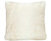 Faux Fur Cushion Polar Bear