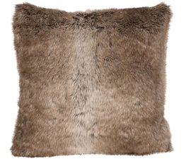 Faux Fur Cushion Desert Fox