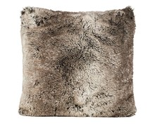 Faux Fur Cushion Yukonwolf