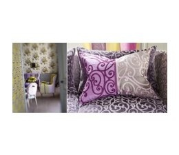 Designers Guild Fretz Berry Cushion