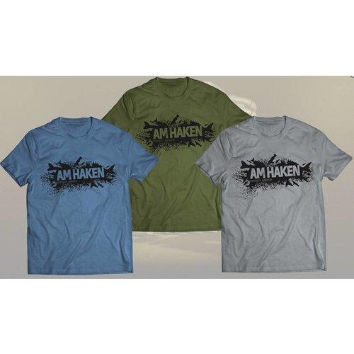 Am Haken Nur für kurze Zeit: AM HAKEN Weihnachts- Special T- Shirt mit Jahresabonnement für 9,99 Euro