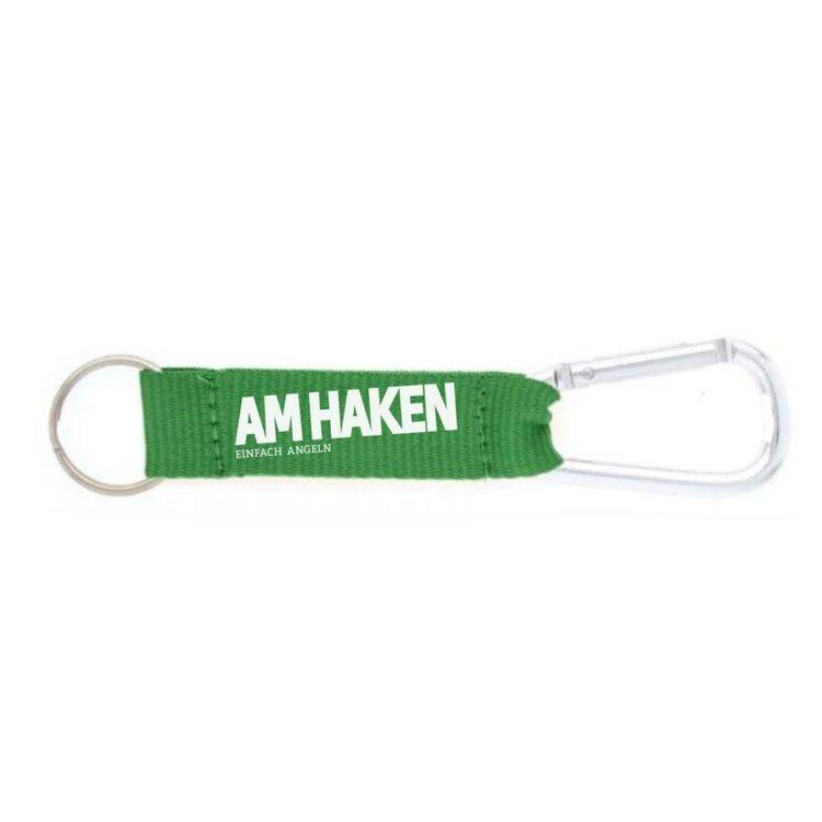 Am Haken Schlüsselanhänger grün