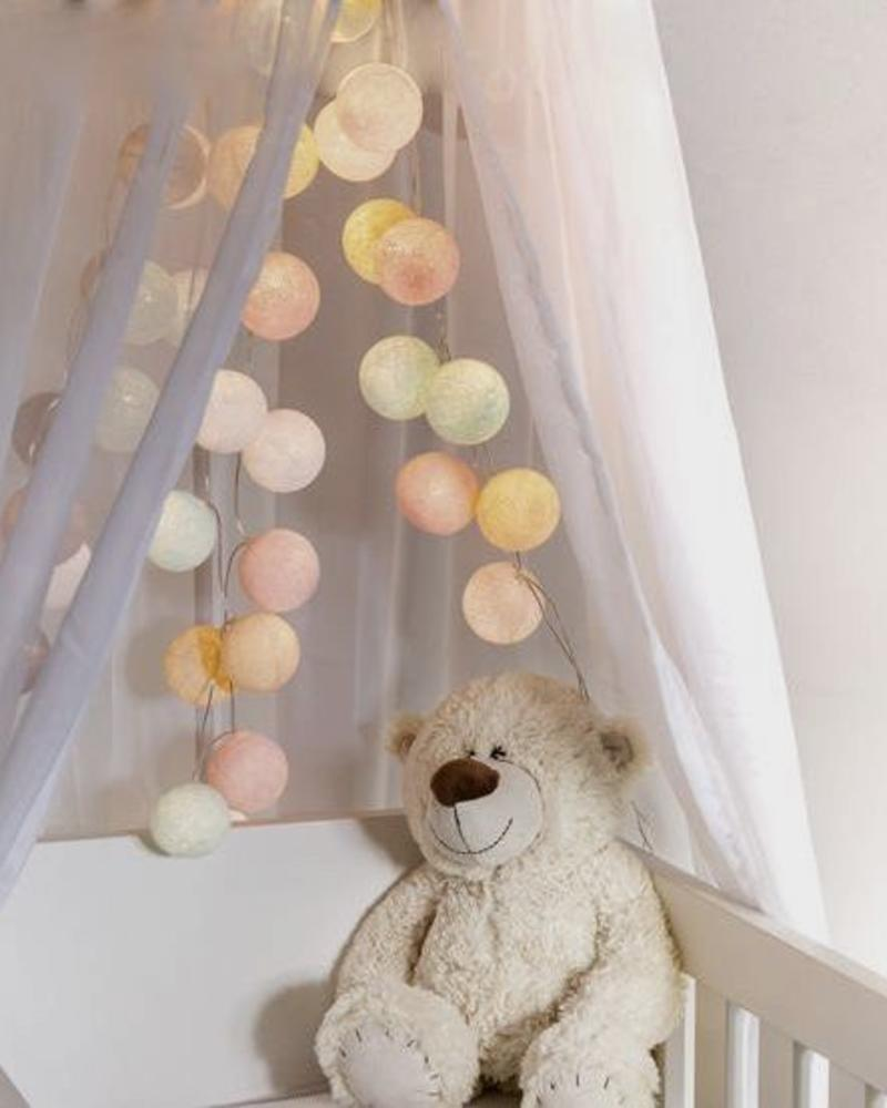 Cotton Ball Party Lights