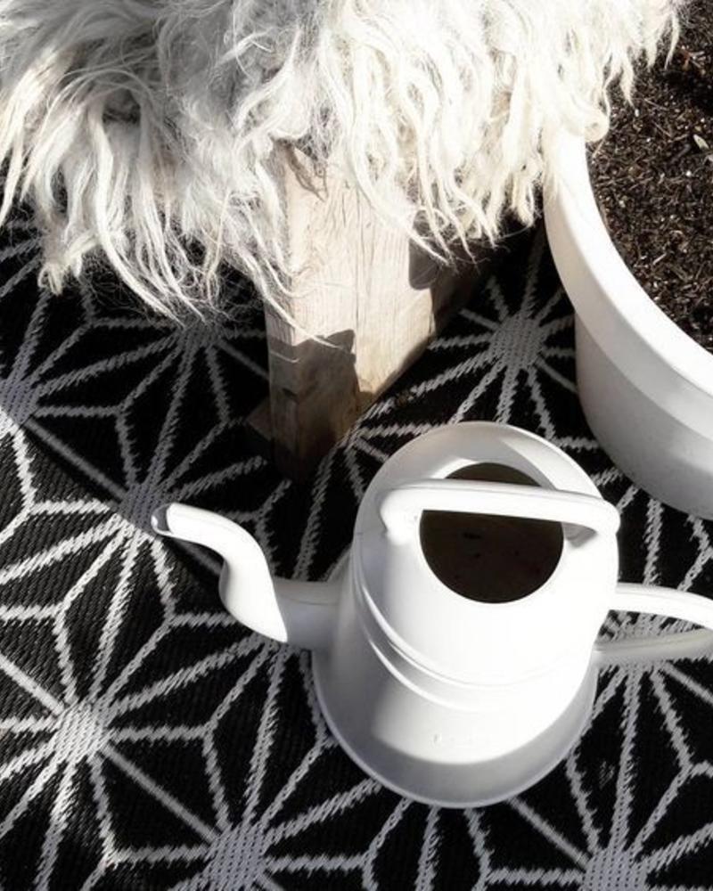 Gieter wit koffiepot