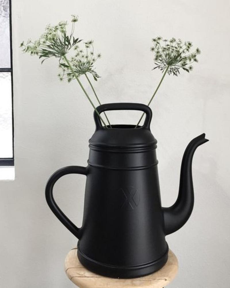 Gieter koffiepot zwart