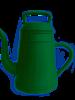 Gieter koffiepot groen