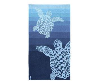 Seahorse Strandlaken Turtle (Blue)