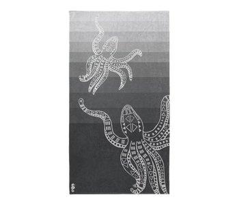 Seahorse Strandlaken Octopus (Grey)