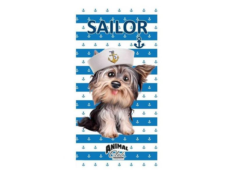 Animal Club Strandlaken Sailor (Blue)