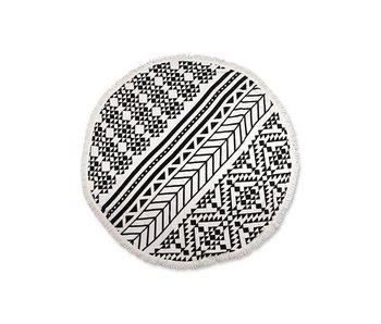 Unique Living Roundie 1 (Black/White)