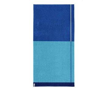 Seahorse Strandlaken Block (Blue)