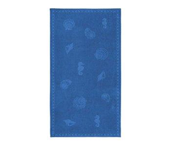 Seahorse Strandlaken Shells (Brilliant Blue)