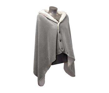 Unique Living Omslagplaid Coby (Grey)