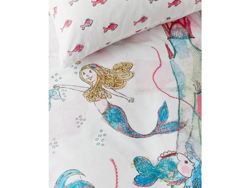 Beddinghouse Beddinghouse Kids Dekbedovertrek Mermaids (Pink) - 140x200/220