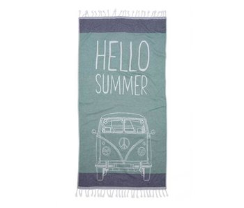 Seahorse Hamam Hello Summer (Green)