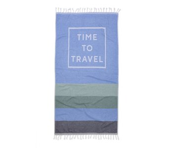 Seahorse Hamam Time to Travel (Blue)