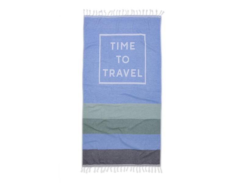 Seahorse Seahorse Hamamdoek Time to Travel (Blue)