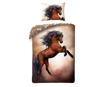 Animal Pictures Wild Horse (Brown)
