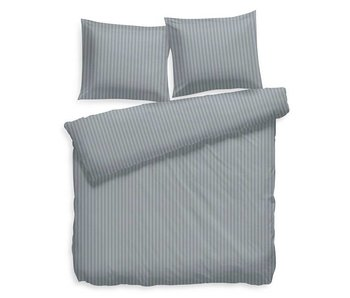 Heckett & Lane Satin Stripe (Steel Blue)