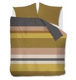 Beddinghouse Beddinghouse dekbedovertrek Grid Stripe (Gold)