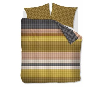 Beddinghouse Grid Stripe (Gold)
