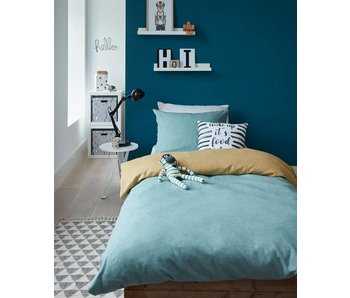 Beddinghouse Flanel Boet (Blue)